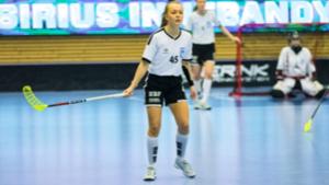 Maja spelar nu i Nacka Wallenstam IBK. Foto: Peter Selemark
