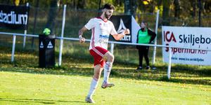 Cihan Sener firar efter att ha prickat in det avgörande 2–1-målet.
