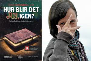 Helena Wästborn teckenspråksgestaltar helgens julkonsert med Svenska kammarorkestern och Örebro Kulturskola,
