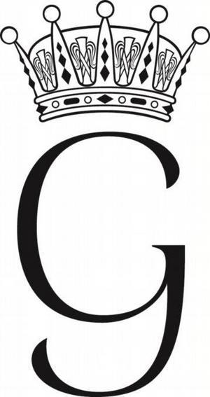 Prins Garbriels personliga monogram, även kallat namnchiffer. Foto: Riksarkivet