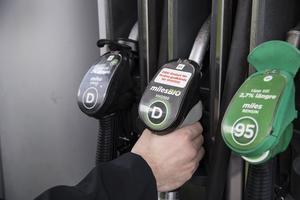 Bensinuppropet handlar inte bara om bensinen. Foto: Anders Wiklund / TT