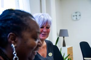 Det är sjätte gången Shida Kinuka och Pernilla Sundén håller i utbildningen för tonårsföräldrar.