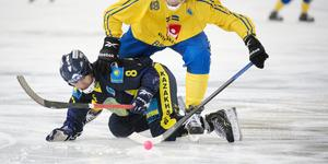 Evgeny Shadrin, här i en landskamp mot Sverige, är klar för Åby/Tjureda. Bild: Jessica Gow/TT