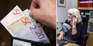 Kommunerna i Säter och Falun och leverentören Visma Entrerprise hoppas nu på smidigare samarbete efter övergången till det  tidigare lönessystemet Personic.  Foto: Henrik Montgomery, TT, och Karin Sundin