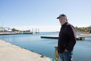 Dick Tillberg, yrkesfiskare i Grisslehamn.
