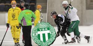 Daniel Johansson och Jesper Jonsson, senast i Vetlanda respektive Hammarby, är klara för Västerås SK. Bild: Andreas Tagg / Jonna Igeland