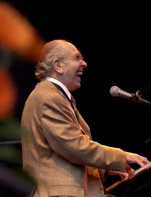 Jazzpianisten Charlie Norman (1920–2005) hyllas av Olle Eilestams kvartett den 2 april. Foto: Scanpix/Maja Suslin