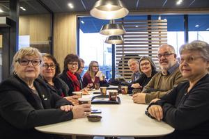 Från Bollnäs kommun fanns många representanter på plats under invigningen.