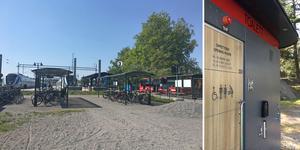 Nynäshamns kommun investerar två miljoner kronor i en ny offentlig toalett vid Nynäshamns station.