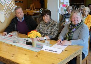 Laget från PRO Nynäshamn vann, när en veteranvetartävling ordnades hos PRO i Ösmo. Foto: Ulla Laiho
