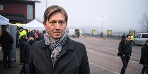 Joakim Storck (C), kommunalråd Falun, har inte gett upp hoppet om Dalregementet.