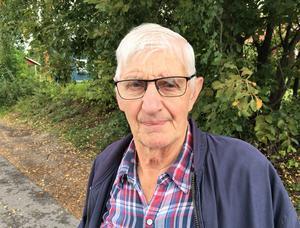 Anders Nilsson, 80 år, pensionär, Matfors: