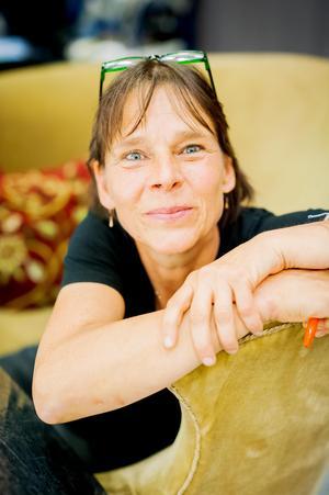 Teaterchefen Lisa Hugosson hoppas på  två givande dagar.Foto: Malin Stagenmark