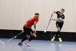 IBK Salas Niklas Sohlberg gjorde enda målet i derbyt mot Sala IBF.