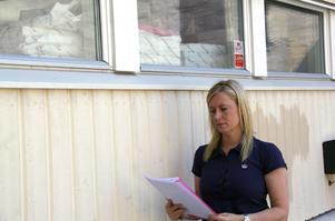 Miljöhandläggare Linda Wilhelmsson bedömer att det inte finns några alvarliga miljöproblem vid Kaltes gamla tryckeri vid Parkgatan