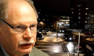 Kenneth Persson (S) har själv bevittnat försäljning av narkotika i västra Borlänge. Det var i samband med en nattvandring. – Det går att få tag på narkotika nästan överallt.  Foto: Bildmontage