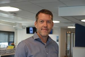 Foto: YilportHåkan Bergström som är försäljningschef på Yilport.
