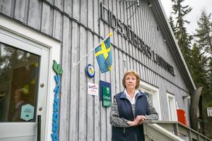 Harriet Danielsson tog över affären för att hon tycker att den är viktig för bygden.