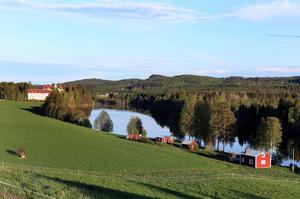 Ljungandalsvägen, Boda borg och Ljungan.