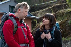 Mikael Persbrandt var en ny bekantskap för Sanna.