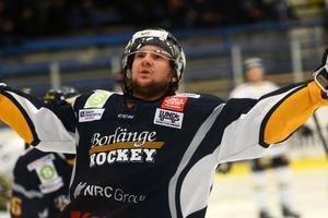 Nils Eriksson slutade tvåa i Borlänge Hockeys interna poängliga efter Sebastian Bengtsson.
