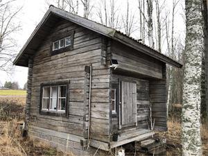 Fritidshus i Torsmo med söderläge, nära sjön Skattungen. Foto: Mats Jonsson.