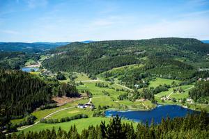 207 meter över havet ligger utsiktspärlan Själandsklinten.