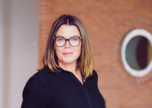 – Det är högt tryck på företagarna, vi ser ingen avmattning där än. De vill göra investeringar och det finns pengar att låna, säger Anna Rosengren, vd för Almi Gävledala.
