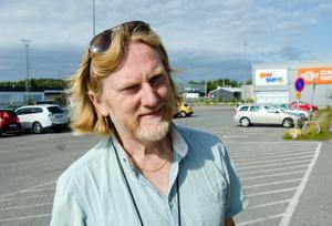 Benny Thörnberg, 52, universitetslektor, Sundsvall.
