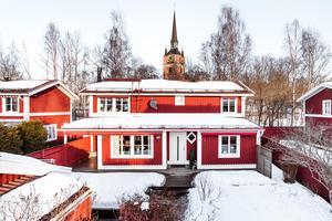 Södra Mariegatan 2H i Falun. Foto: Svensk Fastighetsförmedling Falun
