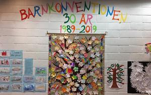På bland annat Rättviks kulturhus firades barnkonventionen hela förra veckan.