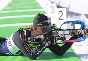Torstein Stenersen vid skjutvallen.