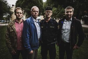 Max Rupla, Anders Friberg, Thomas Nordström och Lars Isacsson (S).