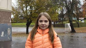 Elsa Asklund Eklund, 9 år, elev, Fagervik.