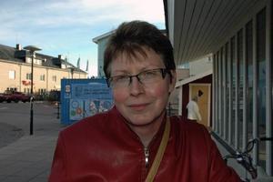 Britt-Marie Skogh, 52 år, tandläkare, Ockelbo:– Det finns ett missnöje med de etablerade partierna. En del äldre känner nog sig otrygga och Sverigedemokraterna har ju verkligen lyft den frågan. Jag tror att många faller för det och den polerade ytan.