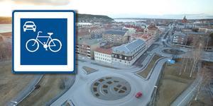 Cykelgator är tänkt att kunna anges på mindre lokalgator där många cyklar för att tydligare visa att just cykling är ett prioriterat transportsätt på den gatan framför exempelvis motorfordonstrafik.