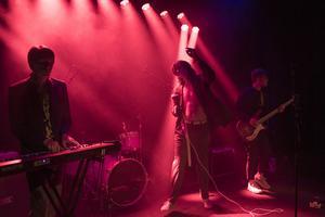 Kape Yeel består av Linus Malmsten sång, Kevin Stålberg på bas och Theo Malmsten på klaviatur.