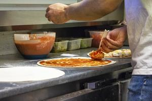 En och annan pizzadeg knådades i Hälsingland under nyårsdagen.