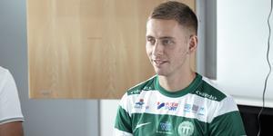 Petar Petrovic presenterades som ny VSK-spelare på onsdagen.