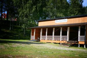 Folkets Park i Åmot.