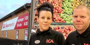 Gabriella Andersson och Daniel Thunstedt har vänt en Ica-butiks nedgång till en häpnadsväckande framgång i Djurås.