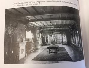 Bild på matsalen, 1892, från boken