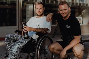 """Det fanns dagar när Jocke Andersson önskade att han fått drunkna i diket. Nu är motivation och livslust tillbaka. """"Om jag vill ge läsarna något råd? Ja, det måste bli att inte ge upp.""""Foto: Martin Bohm"""