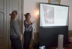 Maria Sundberg och Elin Börjesgård från juristbyrån Familjens jurister.