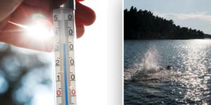 Under veckan förväntas värmen stiga upp till 30 grader. Arkivbilder.