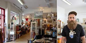 För att hitta guldkornen måste man först gå på några nitar, menar butiksägaren Jonas Svensson.