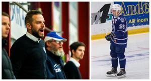 Patrik Fagerlund förklarar hur det kom sig att Linus Svedlund spelade Köping HC under helgen.