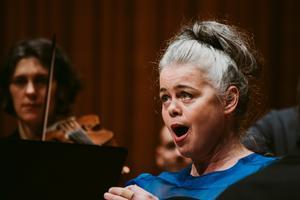 Sopranen Maria Keohane visade en mästerlig hantering koloraturtekniken. Foto: Martin Bohm