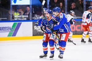 Oskarshamn har värvat hela 18 nya spelare den här säsongen – få hade hört talas om Janne Kivilahti och Nolan Zajac (bilden) den här säsongen, men båda har gjort bra ifrån sig i IKO. Foto: Suvad Mrkonjic / Bildbyrån
