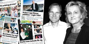 Riv från LT torsdag 31 mars, LT fredag 10 juni 2011, LT fredag 12 augusti 2011 och LT lördag 20 augusti 2011. Foto: Mats Andersson